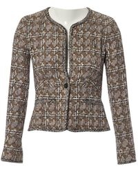 Chanel Chaqueta en tweed multicolor