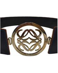 Loewe Leather Belt - Multicolour