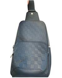 Louis Vuitton Avenue sling Leder Taschen - Schwarz