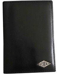 Cartier Black Leather Small Bag Wallets & Cases