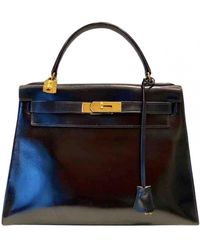 Hermès - Kelly 28 Leder Handtaschen - Lyst