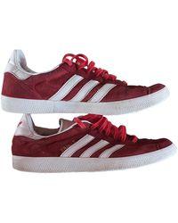 adidas Gazelle Sneakers - Rot