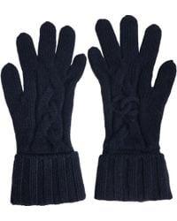 Chanel - Cashmere Gloves - Lyst