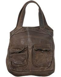 Zadig & Voltaire - Brown Leather Handbag - Lyst