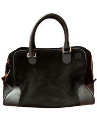 Loewe Amazona Handtaschen - Schwarz