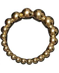 Van Cleef & Arpels - Perlée Yellow Gold Ring - Lyst