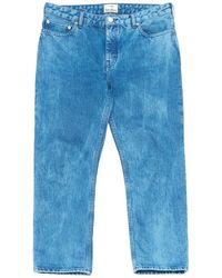 Acne Studios - Pre-owned Blue Cotton - Elasthane Jeans Pop - Lyst