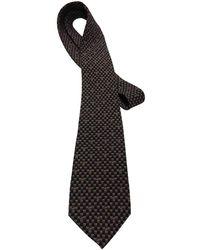 Loewe Black Silk Ties