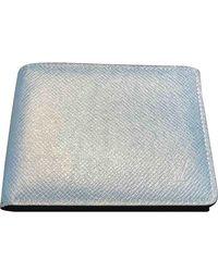 Louis Vuitton Piccola pelletteria in pelle blu