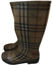 Burberry Wellington Boots - Multicolour