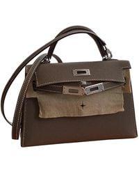 Hermès Kelly Mini Leder Handtaschen - Mehrfarbig