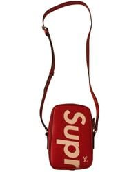 Louis Vuitton Bolsos en cuero rojo