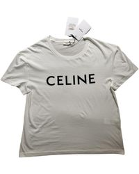 Celine White Cotton Top