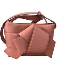 Acne Studios - Leather Handbag - Lyst