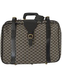 Goyard - Vintage Multicolour Cloth Travel Bag - Lyst