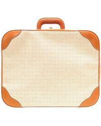 Hermès Cloth Travel Bag - Brown