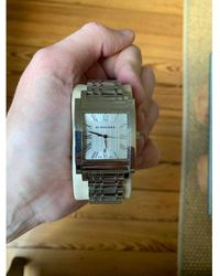 Burberry Silver Steel Watch - Metallic