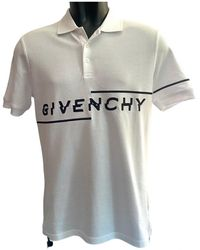 Givenchy Polo in Cotone Bianco