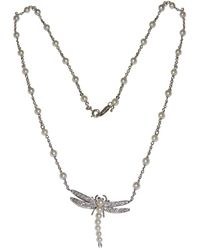 Tiffany & Co. - Pre-owned White Platinum Necklaces - Lyst