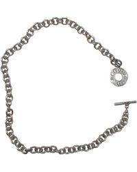 Tiffany & Co. Tiffany 1837 Silber Colliers - Mettallic
