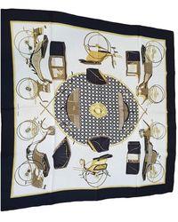 Hermès Foulards Carré Géant silk en Soie - Multicolore