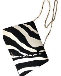 Lanvin Sugar Leather Handbag - Black