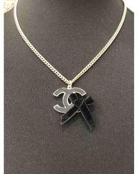 Chanel - Cc Gold Metal - Lyst