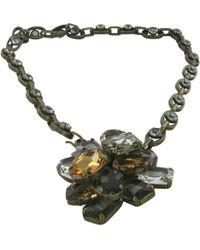 Lanvin - Metal Necklace - Lyst