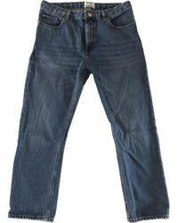 Acne Studios Pop Short Jeans - Blue