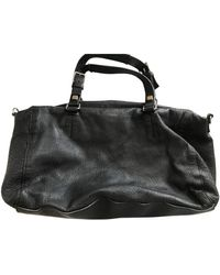 Celine Leather Handbag - Black