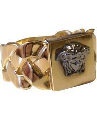 Versace - Medusa Gold Metal Jewellery - Lyst