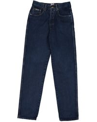 Moschino - Blue Cotton Jeans - Lyst
