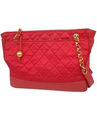 Chanel - Timeless Silk Tote - Lyst