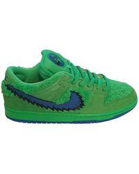 Nike X Grateful Dead 'SB Dunk Low' Sneakers - Grün