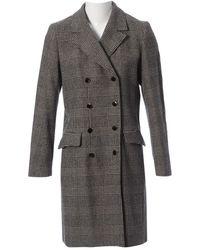 Vanessa Seward Wool Coat - Gray