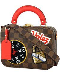 Louis Vuitton Lv Stories Box Leinen Handtaschen - Mehrfarbig