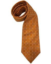 Loewe - Vintage Orange Silk Ties - Lyst