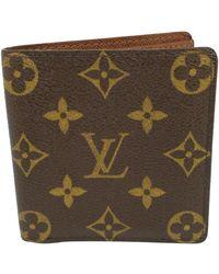 Louis Vuitton Petite maroquinerie Marco en Toile - Marron