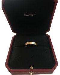 Cartier Love Gelbgold Ringe