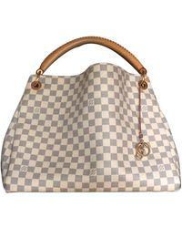Louis Vuitton Artsy Cloth Handbag - Natural