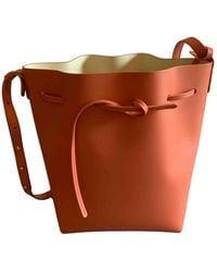 Mansur Gavriel Bucket Handtaschen - Pink