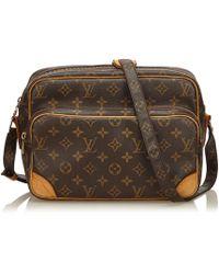 Louis Vuitton - Pre-owned Nile Cloth Handbag - Lyst