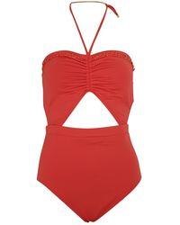 Michael Kors One-piece Swimsuit - Red