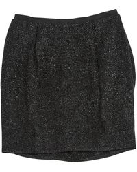 Mulberry Black Synthetic Skirt