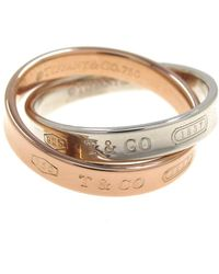 Tiffany & Co. - Tiffany 1837 Other Pink Gold Ring - Lyst