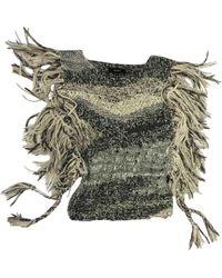 Isabel Marant Beige Silk Knitwear - Natural