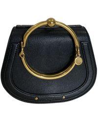 Chloé Bracelet Nile Leather Handbag - Black
