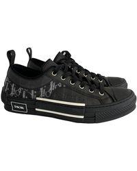 Dior B23 Cloth Low Trainers - Black