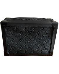 Louis Vuitton Soft trunk mini Leder Taschen - Schwarz