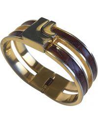 Loewe - Gold Metal Bracelet - Lyst
